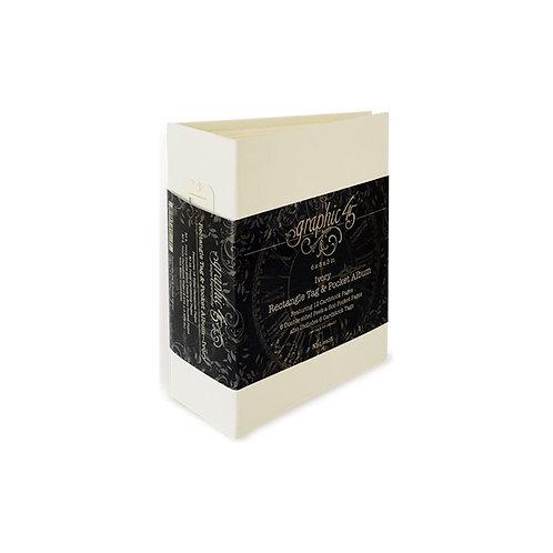 ATC Tag & Pocket Album Ivory
