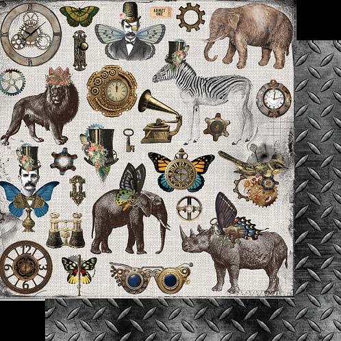 Safari Steampunk -Ephemera King