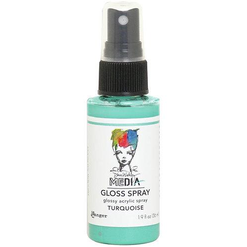 Dina Wakley Media -  Turquoise Gloss Spray
