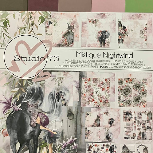 Mistique Nightwind Collection Cardstock Set