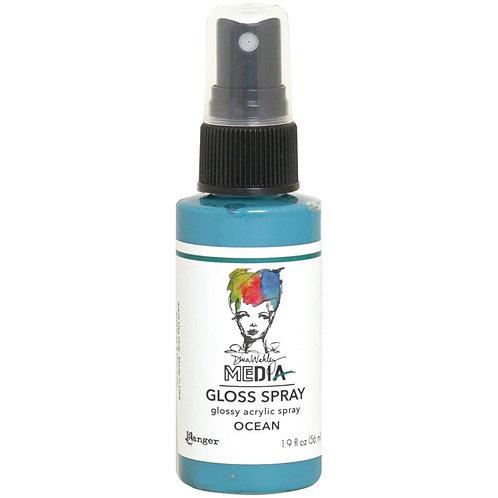 Dina Wakley Media -  Ocean Gloss Spray