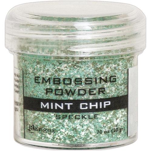 Embossing Powder - Mint Chip