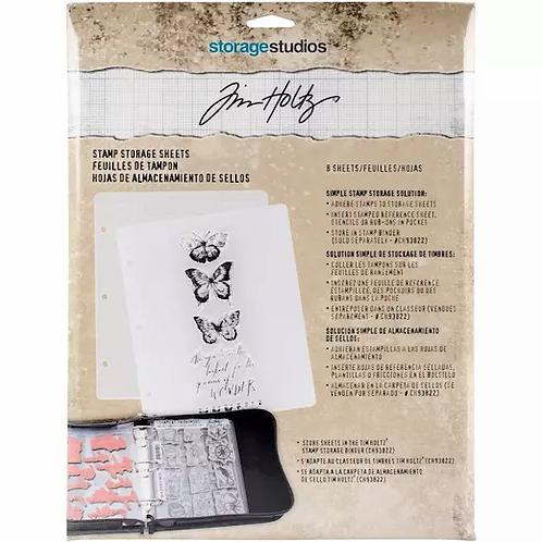 Tim Holtz - Stamp Storage Sheets