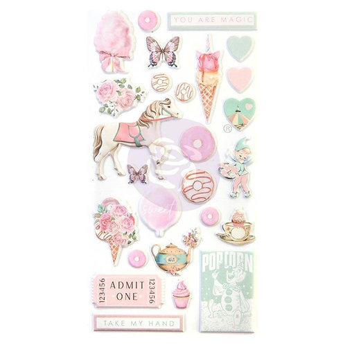 Dulce Puffy Stickers
