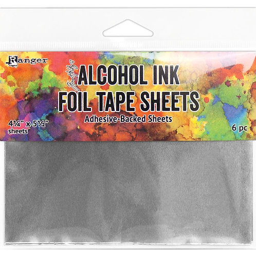 Alcohol Ink Foil Tape Sheets