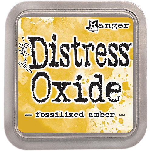 Oxide Pad - Fossilized Amber