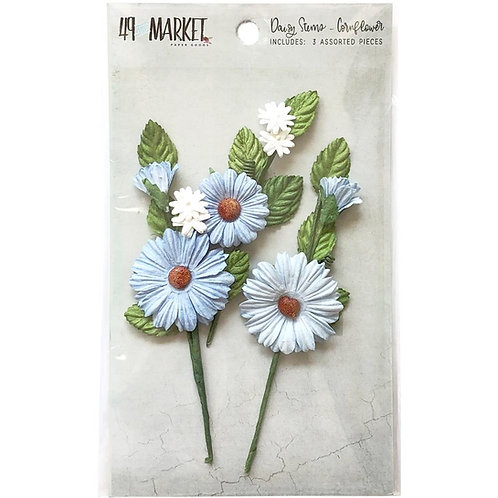 Daisy Stem - Cornflower