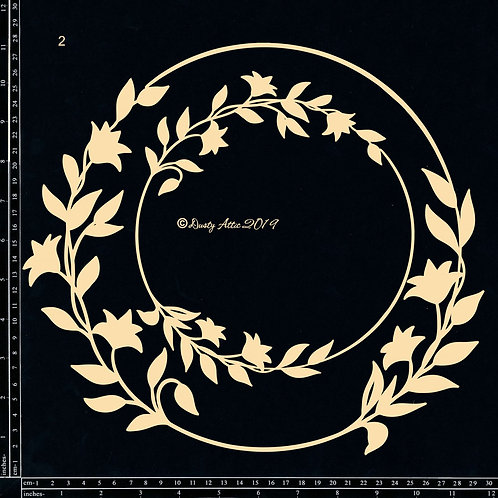 Dusty Attic - Floral Frame Set 2