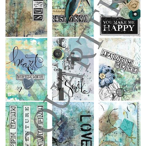 3Quarter - Happiness Tag Sheet