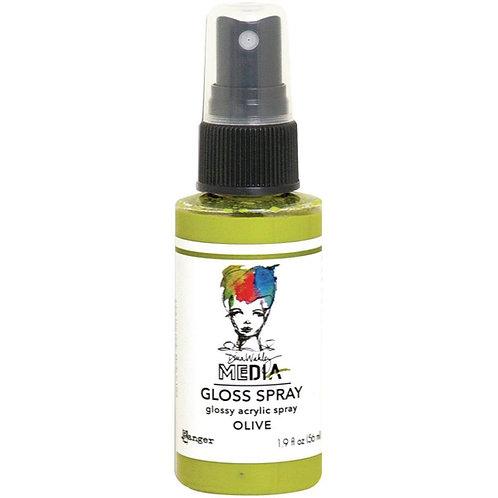 Dina Wakley Media - Olive Gloss Spray