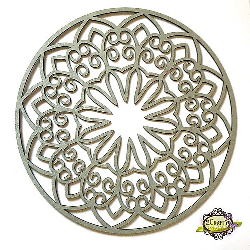 "2Crafty - 10"" Decorative Panel - Mandala 1"