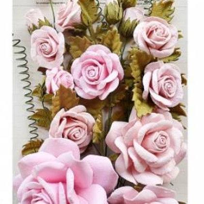 Little Birdie Flowers Rosalind Pearl Pink