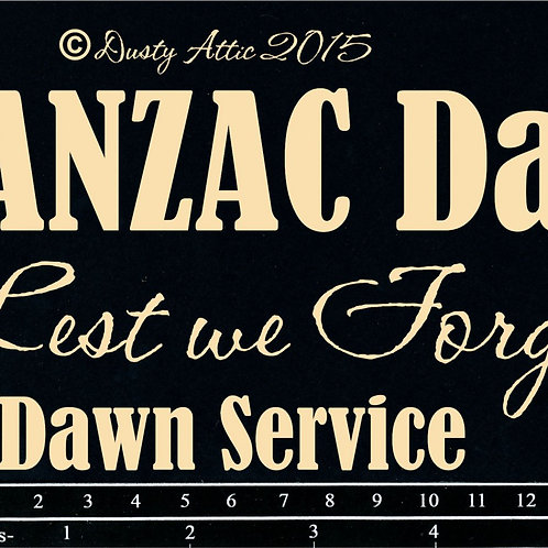 Anzac Day Word Pack