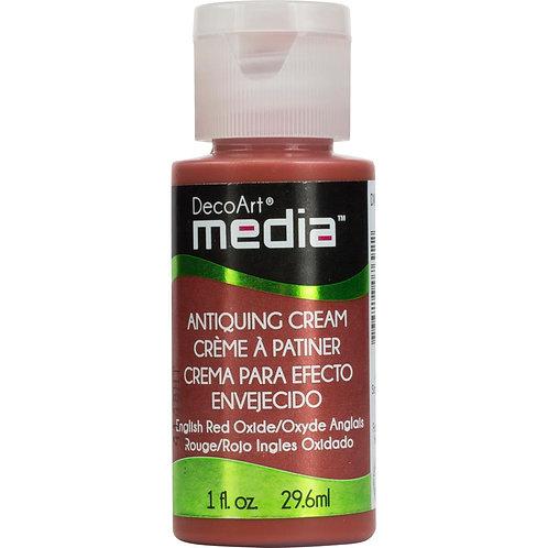 Antiquing Cream - English Red Oxide