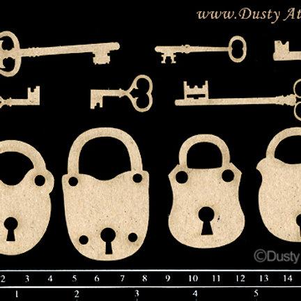 Dusty Attic -Keys & Locks