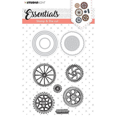 Essentials - Cog Stamp & Die Set