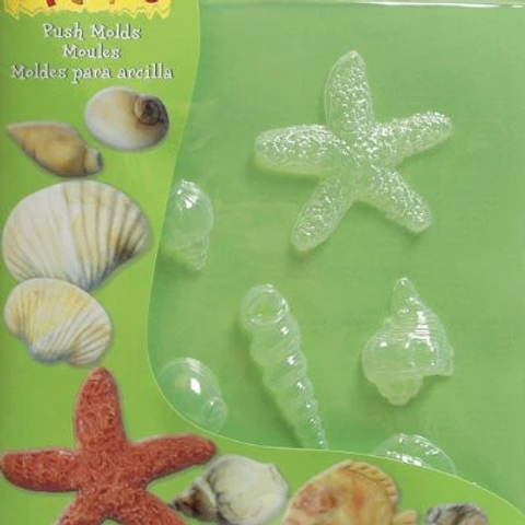 Sea Shells push moulds