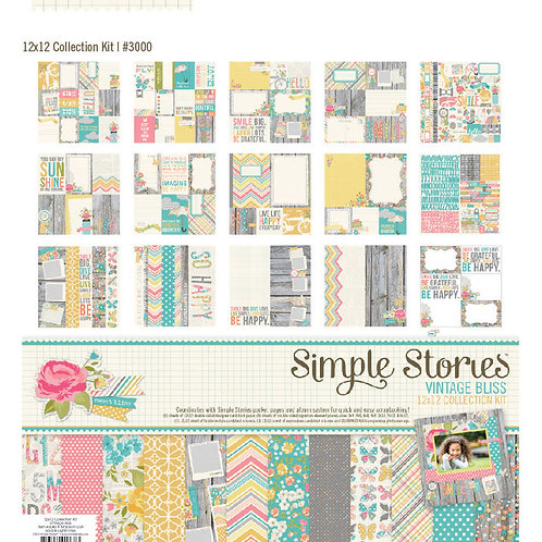 Simple Stories - Vintage Bliss Collection Kit