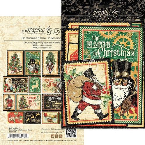 Christmas Time Ephemera &  Journaling Cards