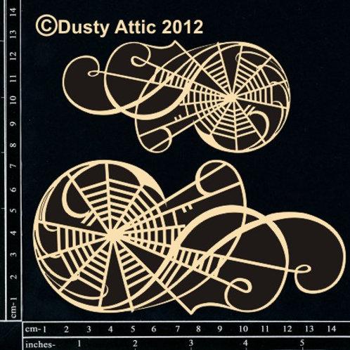 Halloween Dusty Attic -Web Flourish