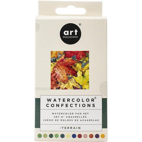 Terraine watercolour pallete