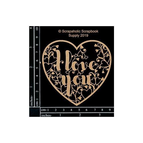 Scrapaholic-I Love Heart You