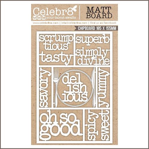 Celebr8 - Recipe Words