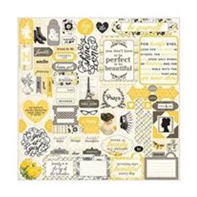 Authentique - Classique Beauty Sticker Sheet