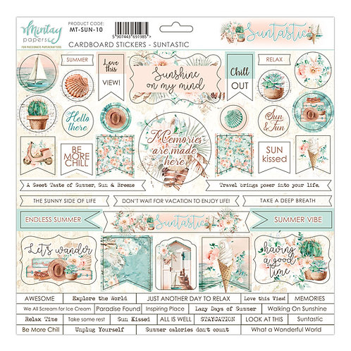 Suntastic cardstock sticker sheet