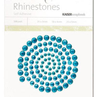 Aqua Marine Rhinestones