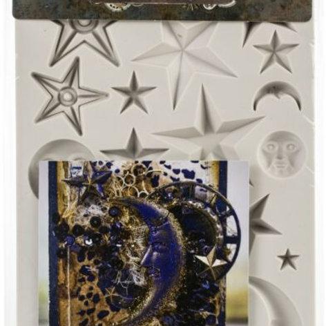 Prima Silicone Mould Stars & Moons