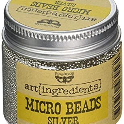 Microbeads Silver
