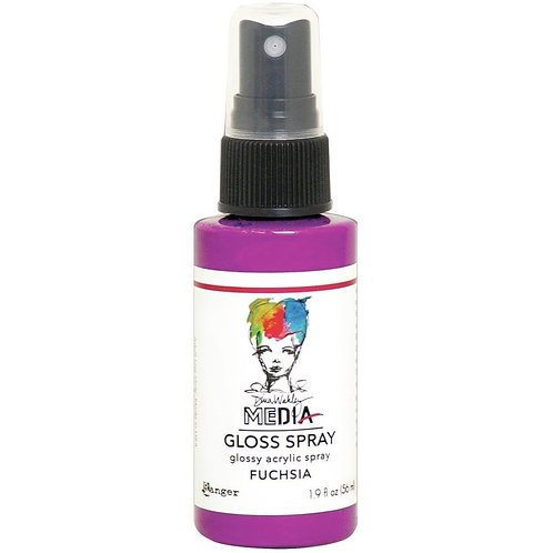 Dina Wakley Media - Fuchsia Gloss Spray