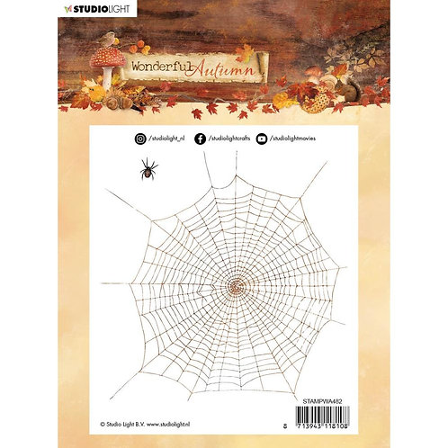 Halloween Spice Web Autumn Stamps NR. 482
