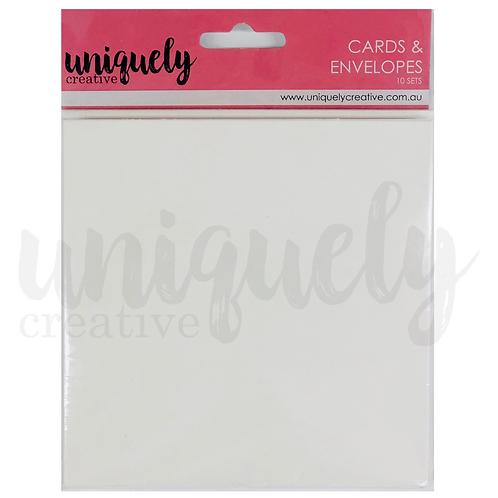 Cards & Envelope Blanks