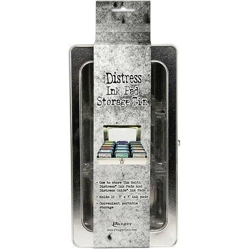 Distress Ink Pad Storage Tin