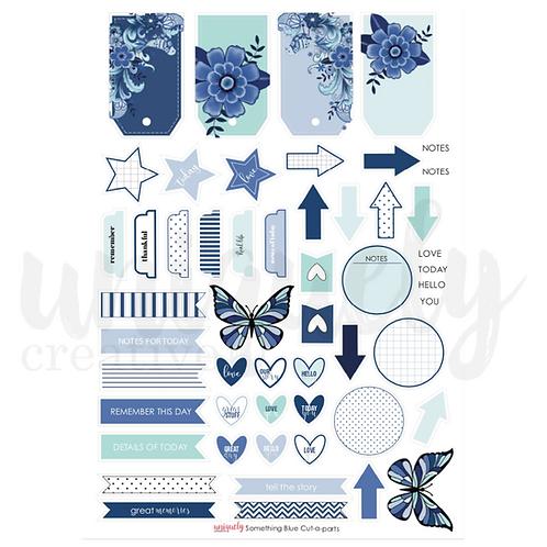 Something Blue - Cut-A-Part Sheet