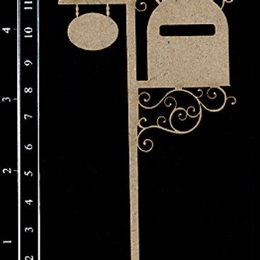 Dusty Attic -Fancy Letter box #2