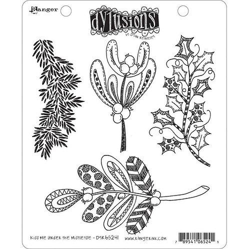 Dyan Reaveley's Dylusions - Kiss Me Under The Mistletoe