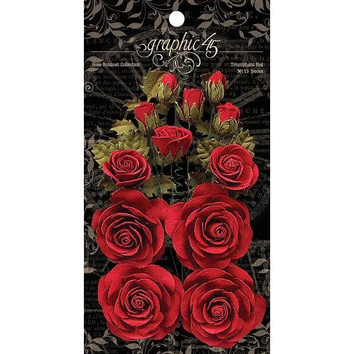Triumphant Red roses