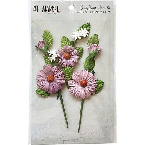 Daisy Stem - Lavender