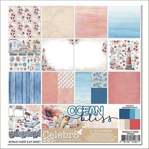 Celebr8 -  Ocean Bliss paper pack