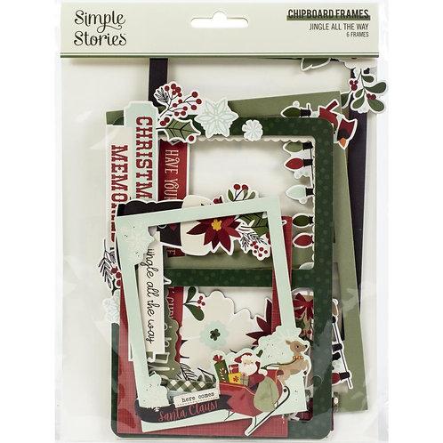 Layered Frames - Jingle All The Way