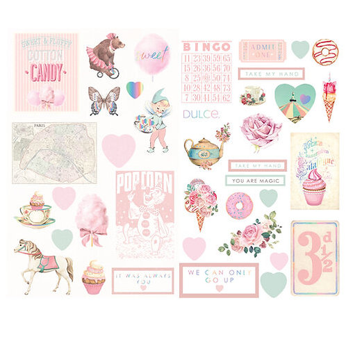 Dulce - Chipboard Stickers