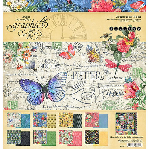 "Flutter Collection 12"" paper"