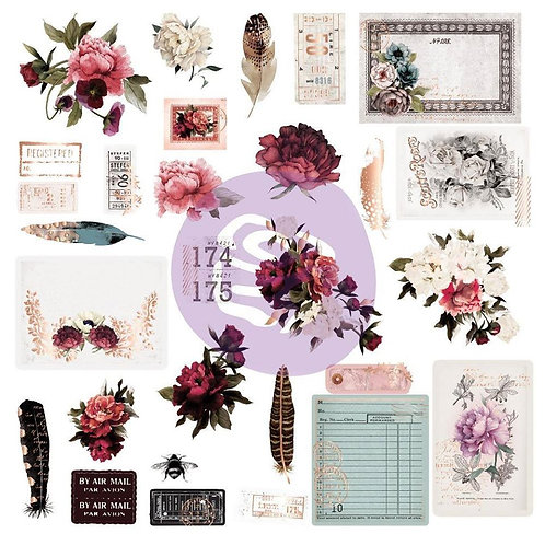 Midnight Garden - Shapes, Tags & Words