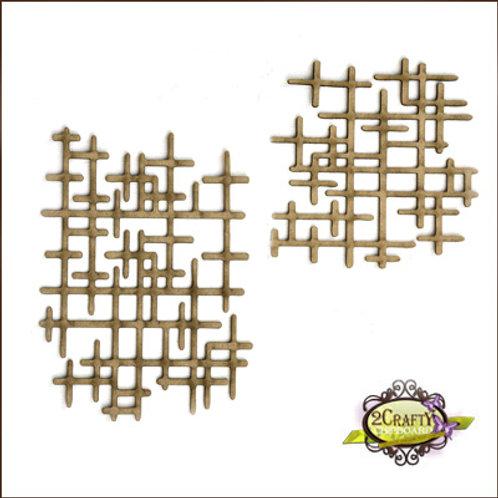 2Crafty - Interlocking Grid Panel