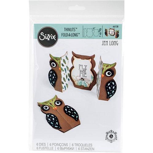 Owl Fold-A-Long Card