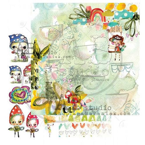AB Studio -Little Fairytale Sheet No. 7