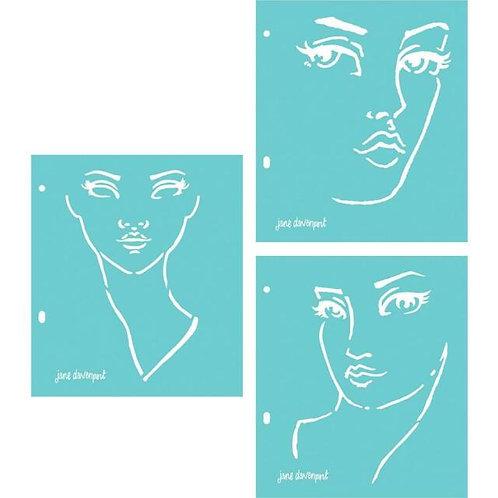 Good Face Stencils